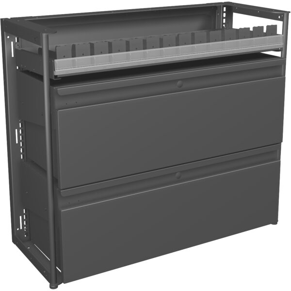 20573.1 Base 3ft Metal with Storage Drawers no side panel Classic